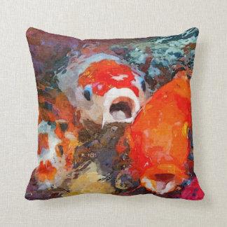 Colorful Koi Fish Cushion