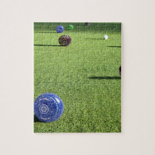 Colorful_Lawn_Bowls,_ Jigsaw Puzzle