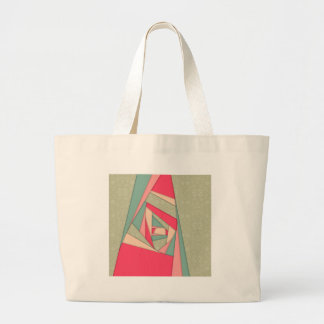 Colorful Layers Collage Canvas Bags