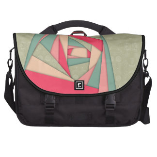 Colorful Layers Collage Commuter Bag