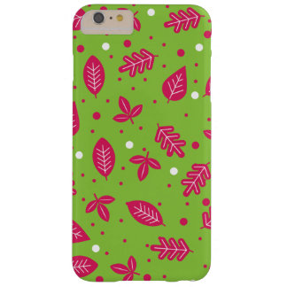 Colorful Leaf Pattern Barely There iPhone 6 Plus Case