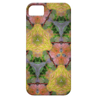 Colorful Leaf Print iPhone 5 Cases