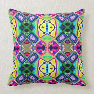 Colorful Lemon Lime Pattern Cushion