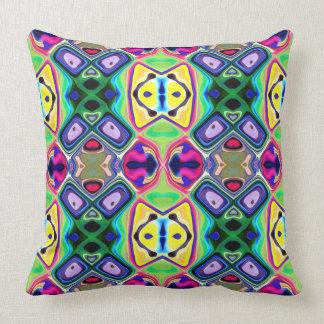 Colorful Lemon Lime Pattern Pillow