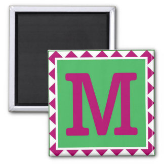 Colorful Letter 'M' - Magnet