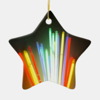 colorful life ceramic star decoration
