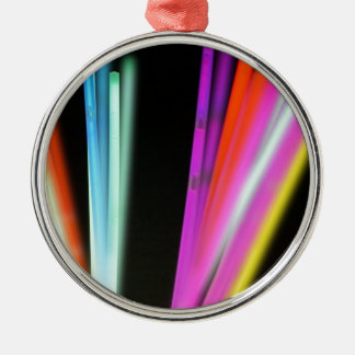 colorful life Silver-Colored round decoration