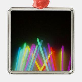 colorful life Silver-Colored square decoration