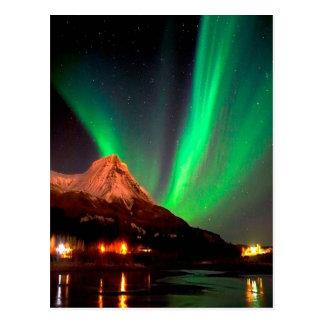 Colorful Lights Postcard
