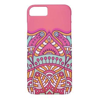 Colorful lilac mandala iPhone 8/7 case