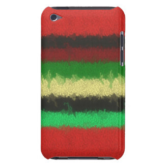 Colorful line pattern barely there iPod covers