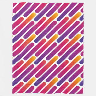 Colorful Line Pattern Blanket