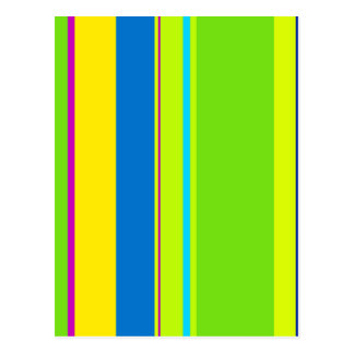 Colorful lines - design by Moma Postcard