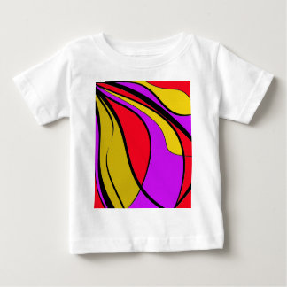 Colorful lines tees