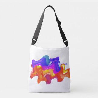 Colorful Liquid Blast Tote Bag