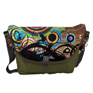 Colorful Liquid Reality Commuter Bags