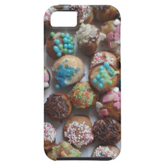 colorful little birthday cakes, food, party cake iPhone 5 case