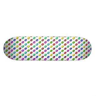 Colorful Little Football Pattern Custom Skate Board