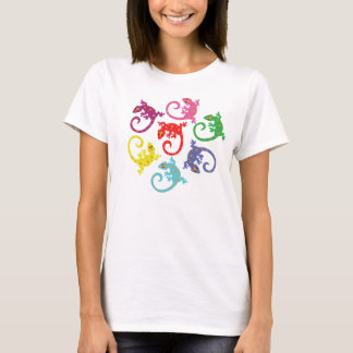Colorful Lizards T-Shirt
