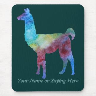 Colorful Llamas Mouse Mat