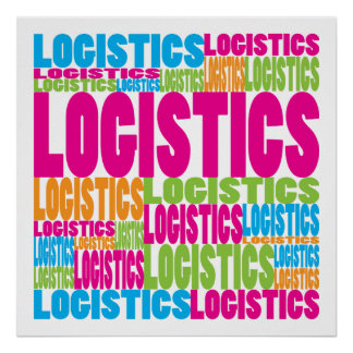 Colorful Logistics Poster