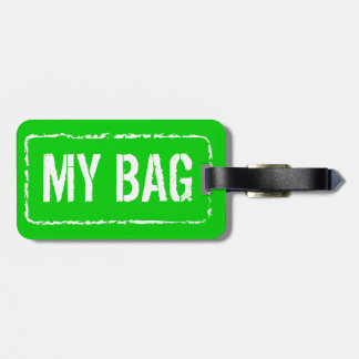 Colorful luggage tags | Customize colors