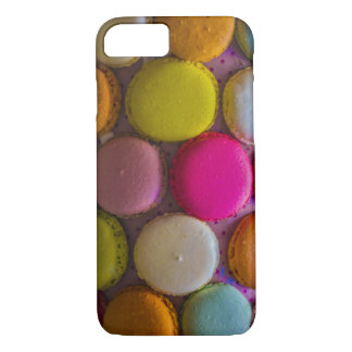 Colorful Macarons Tasty Baked Dessert iPhone 7 Case