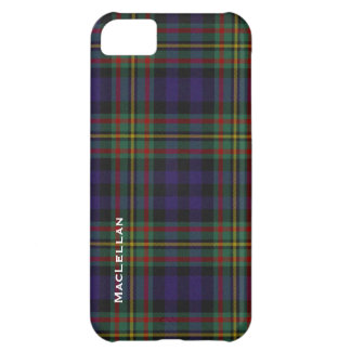 Colorful MacLellan Clan Tartan Plaid iPhone 5C Case