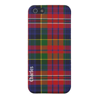 Colorful MacPherson Tartan Plaid iPhone 5 Case