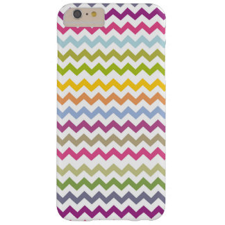 Colorful Made of Zig Zag Stripes Barely There iPhone 6 Plus Case