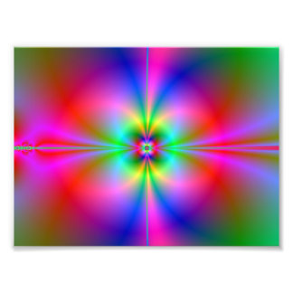 Colorful Magnetosphere Art Photo