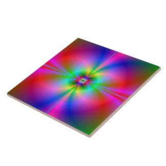 Colorful Magnetosphere Tile