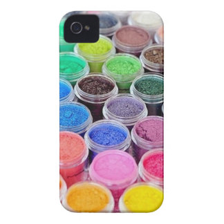 Colorful Make Up Pigment Blackberry Case