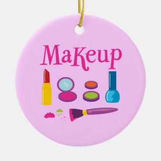 Colorful Makeup Christmas Ornament