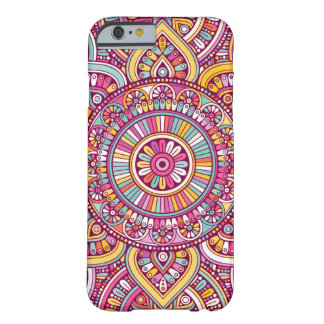 Colorful Mandala Barely There iPhone 6 Case