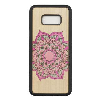 Colorful Mandala Carved Samsung Galaxy S8+ Case