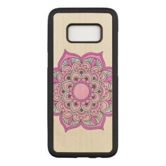 Colorful Mandala Carved Samsung Galaxy S8 Case