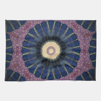 Colorful, Mandala-Inspired Boho Tea Towel