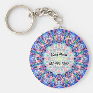Colorful Mandala Key Ring