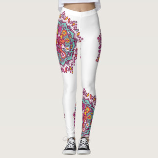 Colorful Mandala Leggings