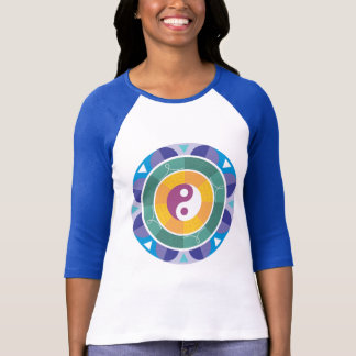 Colorful Mandala Ying Yang Designs Gifts T-Shirt
