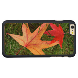 Colorful Maple Leaf Carved® Maple iPhone 6 Plus Case