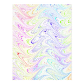 colorful marble pattern flyer