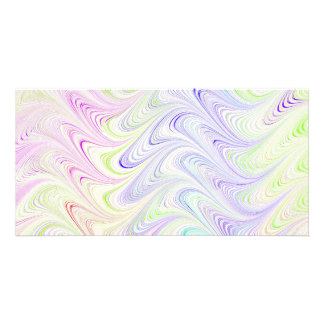colorful marble pattern picture card
