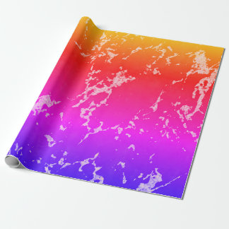 Colorful Marble Stone Texture Wrapping Paper