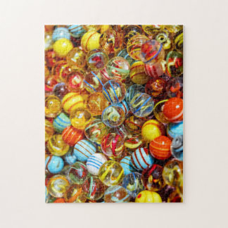 Colorful Marbles Jigsaw Puzzle