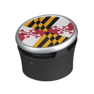 Colorful Maryland State Flag Bluetooth Speaker