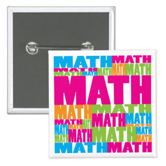 Colorful Math Pins