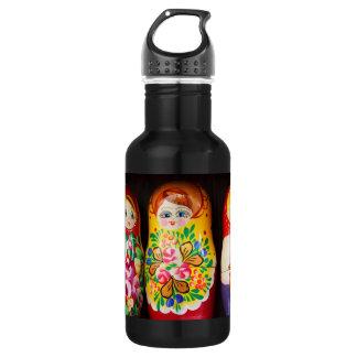 Colorful Matryoshka Dolls 532 Ml Water Bottle