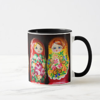 Colorful Matryoshka Dolls Mug